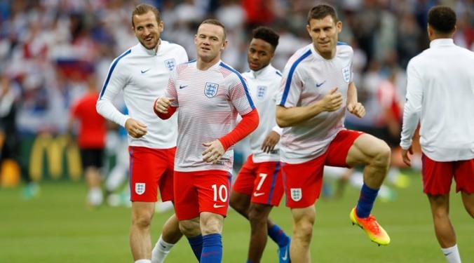 Slovakia v England - EURO 2016 - Group B