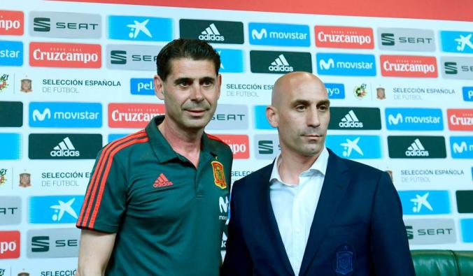 d56fe80fe Fernando Hierro will be Spain s manager for the 2018 World Cup after it was  announced the former Real Madrid and Bolton man would replace Julen  Loptegui ...